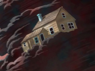 House in a twister